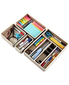 Bentwood Kitchenware 4-Pc. Utensil, Tool & Desk Drawer Organizer Set