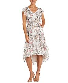 Ruffled High-Low Dress