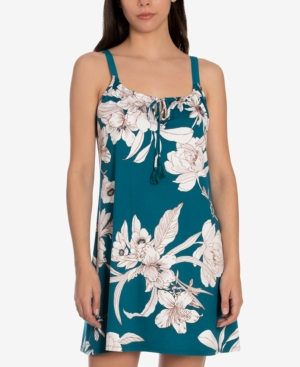 Blaise Floral-Print Chemise Nightgown