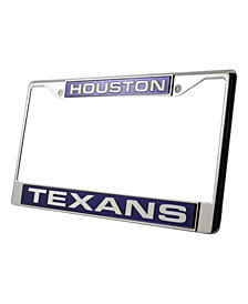 Rico Industries Houston Texans License Plate Frame
