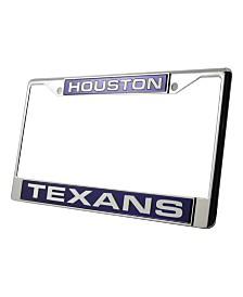 Rico Industries Houston Texans License Plate Frame