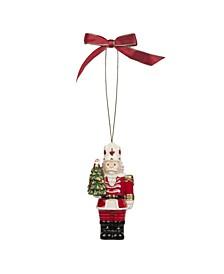 Christmas Tree Nutcracker with Tree Ornament