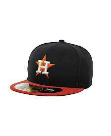 New Era Houston Astros MLB Authentic Collection 59FIFTY Fitted Cap