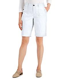 Utility-Pocket Stretch-Waist Shorts, Created for Macy's