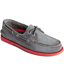 Men's Authentic Original 2-Eye Colored Sole Boat Shoes