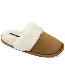 Izod Women's Faux-Fur Slippers