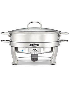 Bella 13423 5-Qt. Stainless Steel Electric Chafing Dish