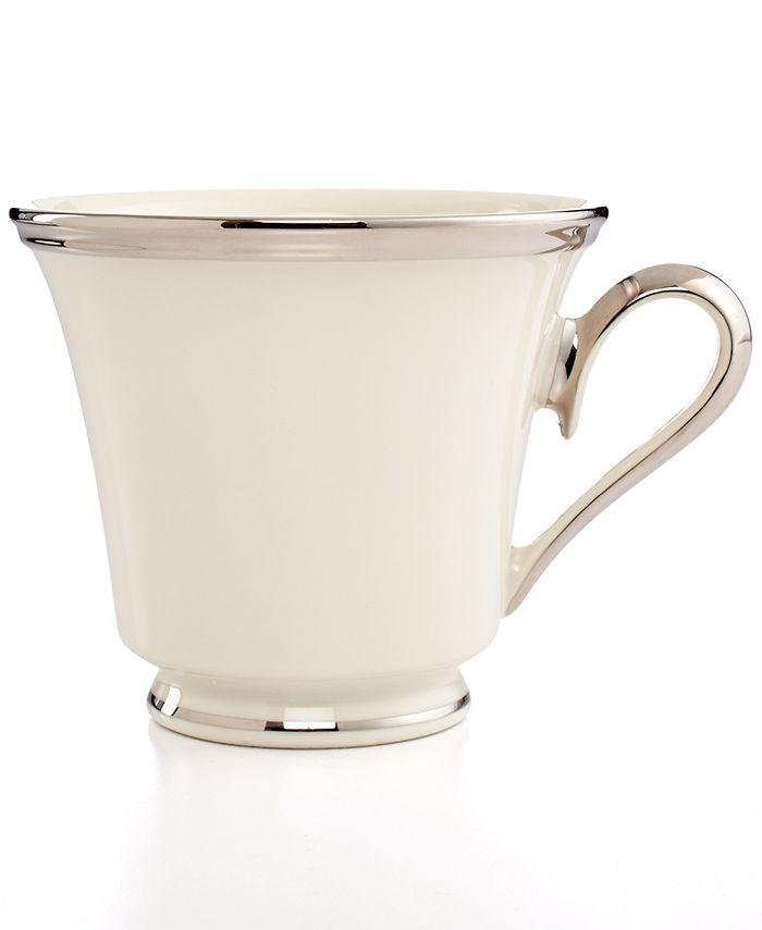 """Lenox - """"Solitaire"""" Teacup"""