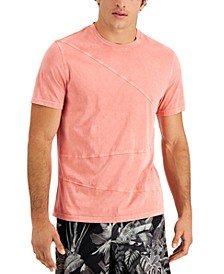 Men's Pieced T-Shirt, Created for Macy's