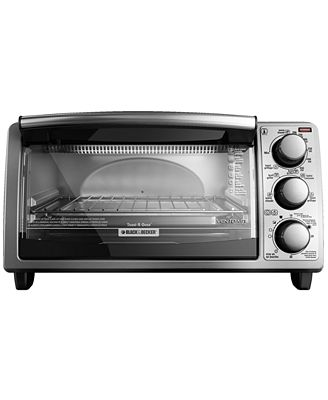 Black Amp Decker To1373ssd 4 Slice Stainless Steel Toaster