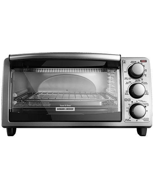 Black & Decker TO1373SSD 4 Slice Stainless Steel Toaster Oven