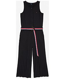 Women's Jumpsuit with Magnetic Closure