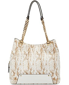 Trippii Snake-Embossed Tote, Created for Macy's