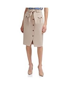 Safari Pencil Skirt