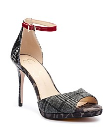 Women's Daisile Ankle Strap Heeled Sandals