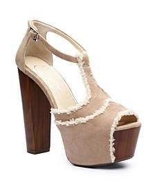 Women's Dany High Heel Platform Dress Sandals