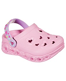 Sketchers Toddler Girls Foamiest Light Hearted - Unicorns and amp Sunshine Clog Shoes from Finish Line
