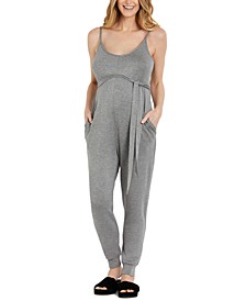 French Terry Maternity Jumpsuit