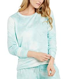 Tie-Dyed Maternity Sweatshirt