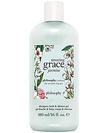 Amazing Grace Jasmine Shampoo, Bath & Shower Gel