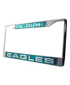 Philadelphia Eagles Laser License Plate Frame