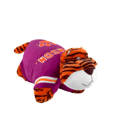Fabrique Innovations Clemson Tigers Team Pillow Pet