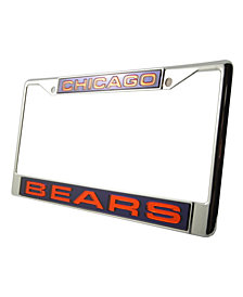 Rico Industries Chicago Bears Laser License Plate Frame