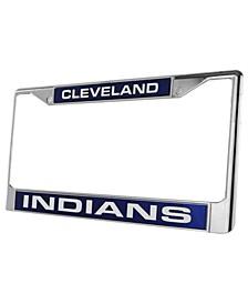 Cleveland Indians Laser License Plate Frame