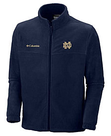 Columbia Men's Notre Dame Fighting Irish Full-Zip Fleece Jacket
