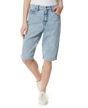 High Rise Extended Bermuda Shorts