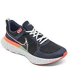 Men's React Infinity Run Fly knit 2 A.I.R. Kelly Anna London Running Sneakers from Finish Line