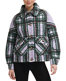 Plaid Shirt Jacket, Created for Macy's