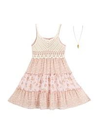 Big Girls 2 Piece Dress Set