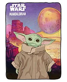 Baby Yoda 'The Child' Blanket