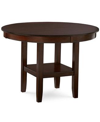 Branton Round Dining Table Furniture Macy 39 S