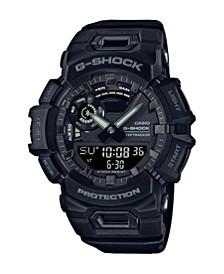 Black Resin Ana-Digi BLE Steptracker Watch