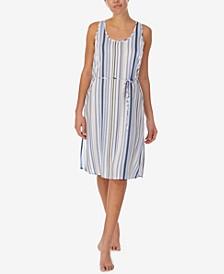 Women's Tie Waist Midi Gown
