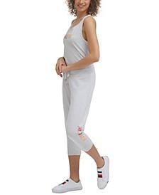Women's Capri Jogger Pants