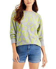 Animal Print Sweatshirt, Created for Macy's