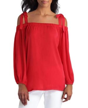 Women's 3/4 Sleeve Off-the-Shoulder Top
