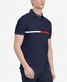 Men's Custom-Fit Tanner Logo Polo
