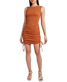Knit Drawstring Tank Dress