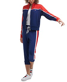 Women's Colorblocked Track Jacket