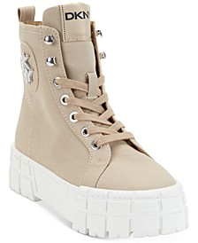 Women's Peri Lace-Up Booties