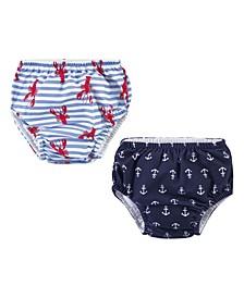 Boys and Girls Swim Diapers, 2 Piece Set