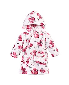 Boys and Girls Plush Pool and Beach Robe Cover-Ups