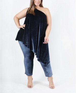 Plus Size Genevieve Top and Bottom Set