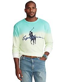 Men's Big & Tall Big Pony Dip-Dyed Spa Terry Sweatshirt