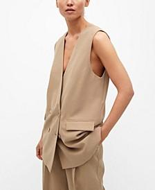 Women's Long Flowy Vest