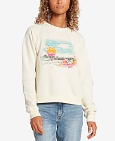 Juniors' Truly Stokin Crewneck Sweatshirt